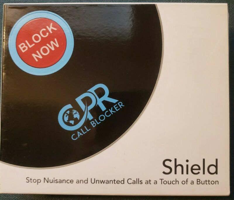 CPR 3500 Call Blocker Block All Robocalls Landline Political Calls. Brand new