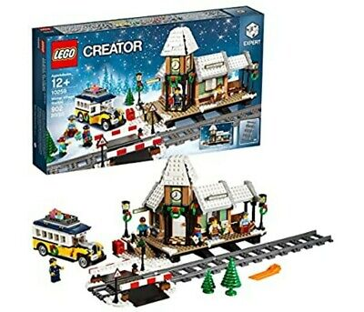 LEGO 10259 Creator Winter Village Station New in FACTORY SEALED Box - Christmas