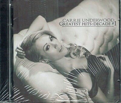 Carrie Underwood Greatest Hits Decade  1 2 Cd Set New Free Shipping