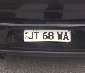 Personal slimline number plates White Gum Valley Fremantle Area Preview