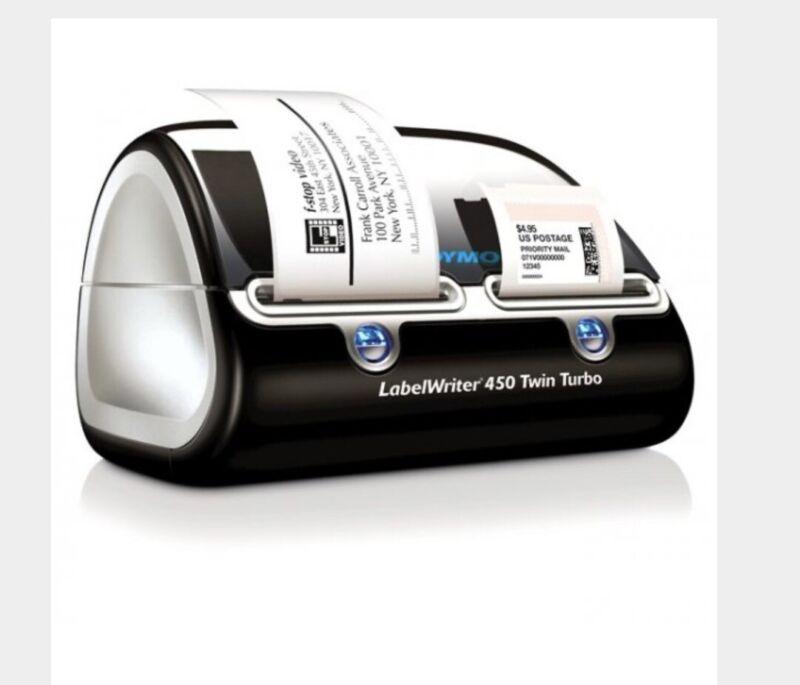 Dymo LabelWriter Direct Thermal Printer Monochrome Platinum Label Print 450