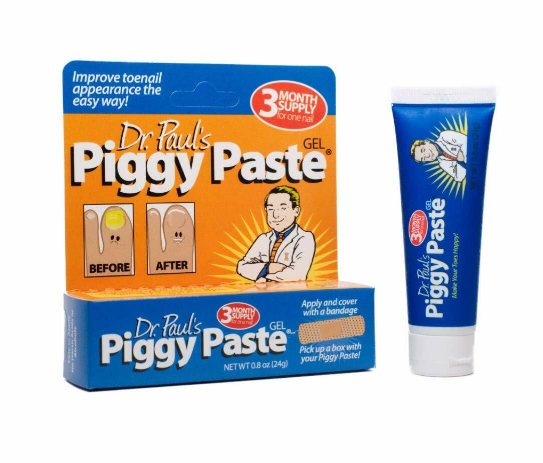 Dr. Paul's Piggy Paste Gel Anti Fungal 3 Month Supply Improve Toenails 0.8 oz Health & Beauty