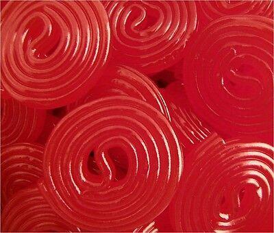 Broadway Red Strawberry Licorice Wheels - Bulk Candy 15oz SUPER SAVER