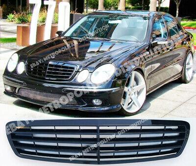 Vip Estilo Mercedes E w211 Familiar, 2002-06 Rejilla, Negro Brillante, AMG E55 ; segunda mano  Embacar hacia Spain
