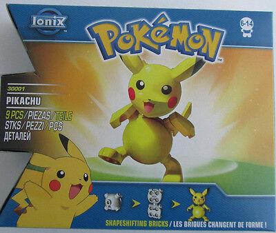 Pokemon * 9tlg. Bausteine Set * Pikachu * Ionix * Neu * OVP