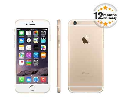 New Apple iPhone 6 16GB Gold Unlocked SIM Free Smartphone Sealed in...