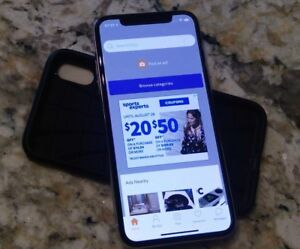IPhone X for sell with accessories