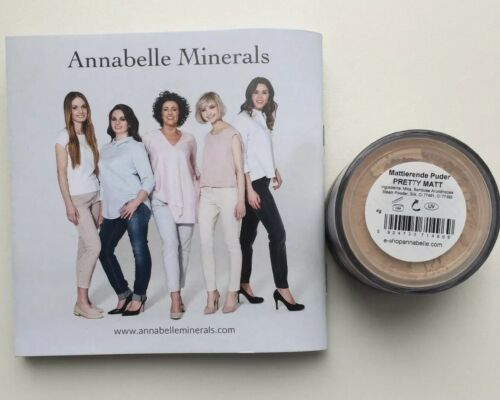 Annabelle Cosmetics Mineral Make Up und Mattierendes Puder ♥ Top Made In Germany