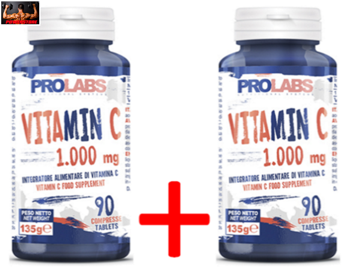 VITAMINA C 1000 mg PROLABS - VITAMIN C - 2 x 90 Compresse