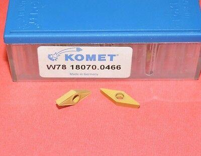 Komet W78 18070.0466 Carbide Insert W78 18070 0466