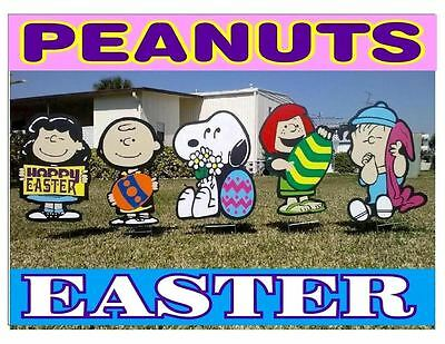 Peanuts outdoor Easter COMBO Christmas valentine's decorations - Outdoor Valentine Decorations