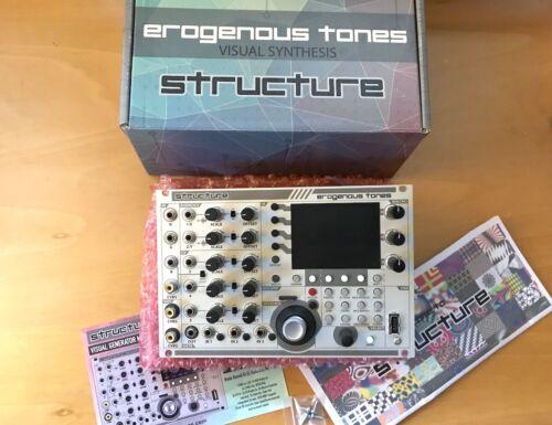 Erogenous Tones Structure Visual Generator Eurorack Modular Video-LZX Compatible
