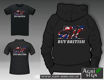 2f3718a6b5 *Farming Tractor Hoody Shirt Fendt Massey Case Claas New Holland* BUY  BRITISH*