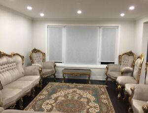 Brand New Victorian couch & chairs & tables FULL SET
