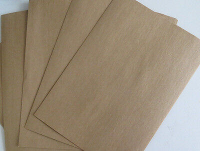 20x A5 BROWN KRAFT CARD BLANKS STOCK NATURAL PAPER RECYCLED 4 CRAFT WEDDINGS -