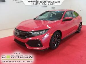 2018 Honda Civic Hatchback SPORT MANUELLE 1.5L TURBO 180 CH SPOR
