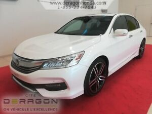 2016 Honda Accord Sedan TOURING + GARANTIE PROLONGEE + AUCUN ACC