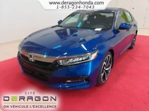 2018 Honda Accord Sedan SPORT 1.5L TURBO 192 CH + HONDA SENSING