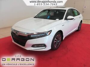 2018 Honda Accord Sedan TOURING+HYBRIDE+CUIR+NAVIGATION+DÉMARREU