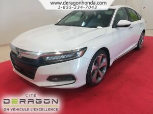 2018 Honda Accord Sedan TOURING 1.5L TURBO 192CH + MAGS 19 PO TO