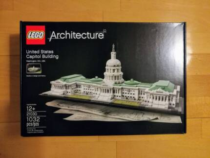 Lego architecture United State Capitol building 21030