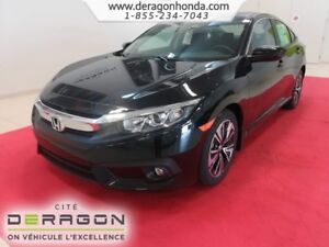 2018 Honda Civic Sedan EX-T 1.5L TURBO 174CH + ROUES 17PO EX-T 1