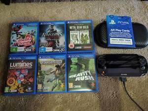 PS Vita, 32GB Memory Card, 6 games and hard shell case Success Cockburn Area Preview