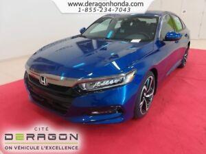 2018 Honda Accord Sedan SPORT 1.5L TURBO 192 CH + HONDA SENSING
