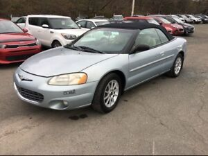2001 Chrysler Sebring LIMITED **DECAPOTABLE**A BON PRIX**