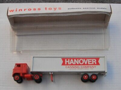 Hanover Canning, now Brands----old 1970  WinrossTruck--abe