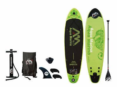 "Aqua Marina Breeze 9' 9"" Stand Up Paddle Board Inflatable SU"