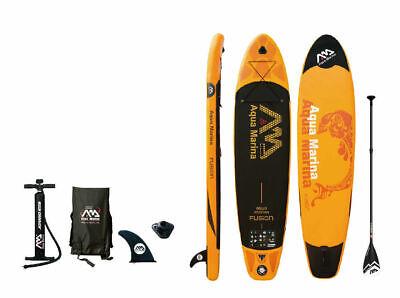 "Aqua Marina Fusion 10' 10"" (6"" Thick) Stand Up Paddle Board Inflatable SUP"