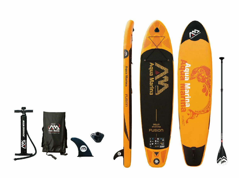 """Aqua Marina Fusion 10' 10""""  Stand Up Paddle Board Inflatable"""