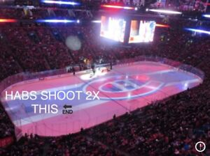 Upcoming HABS tickets FOR SALE!! Below face value. White 1st row