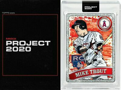 Topps Project 2020 #100 Mike Trout by Blake Jamieson/Ben Baller