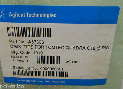 Box Of 480 Varian Omix Pipet Tips For Tomtec Quadra C18 A57303