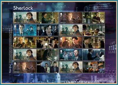 *SOLD OUT* 2020 Sherlock Holmes Collector Sheet LS126 Generic Smilers Sheet **