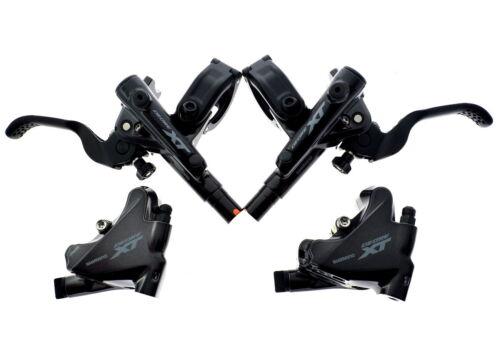 Shimano XT BL-M8100//BR-M8110 I-Spec-EV Disc Brake Lever//Caliper Set Flat Mount
