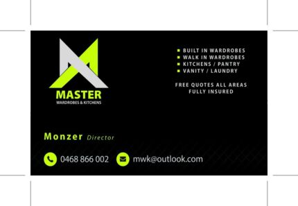 Master wardrobes & kitchens Greenacre Bankstown Area Preview
