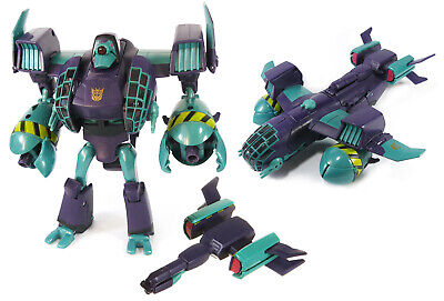 AWESOME Transformers Animated Lugnut Voyager Class