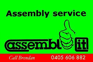 Flat pack furniture assembly - prompt service : call Assembl- it! Osborne Park Stirling Area Preview