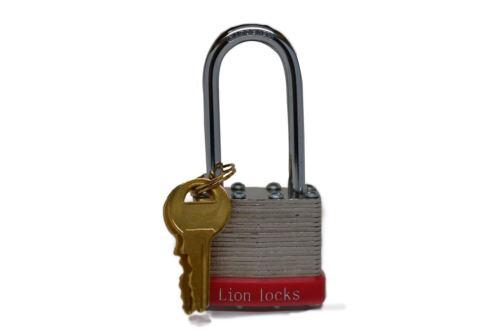 Lion Locks Laminated Steel Key Padlock (40mm)