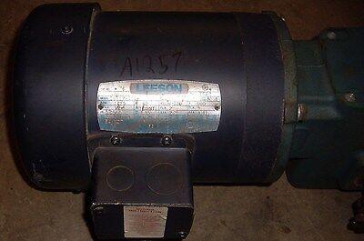 Leeson Gear Motor Cat C6t17fc10e 12 Hp A6r