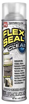 Flex Seal Liquid Aerosol Rubber Sealant Coating 14 Oz Clear New Sale