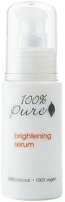 100% Pure Brightening Serum 1oz NEW Organic Natural facial oil moisturizer serum