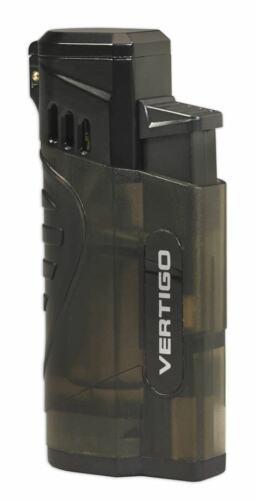 Vertigo Stinger Smoke Quad Jet Torch Butane Cigar Lighter Punch Cutter  NEW