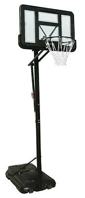 New Bee-Ball Ultimate Full Size Basketball Stand Net and Hoop adjustable height