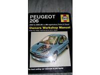 Peugeot 206 car manual