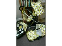 cosatto giggle tree travel system