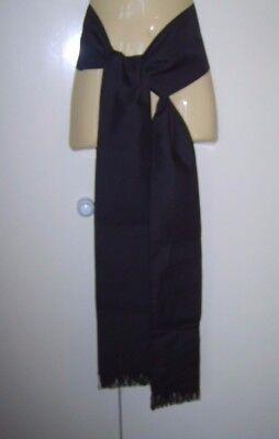 Mens Black Cummerband Sash Obi Belt Pirate Spanish Zorro Fancy Dress Costume New